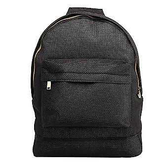 Mi-Pac Backpack Model'Gold' Black (All Mesh Black)