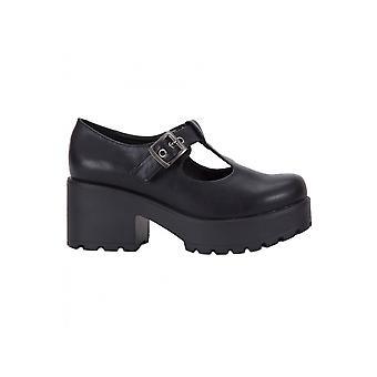 Koi Footwear Vegan Leather Buckle Shoe