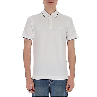 Z Zegna Vu360zz661n00 Männer's weiße Baumwolle Polo Shirt