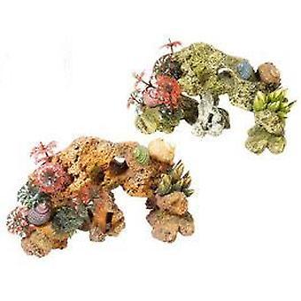 Classic For Pets Pierre, Corail et plantes - 2 pièces