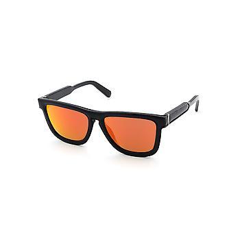 Loewe LW40004I 01G Black/Revo Red Sunglasses