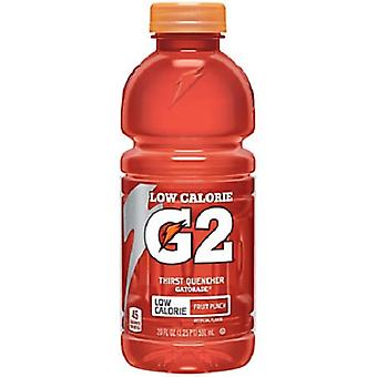 Gatorade G2 Fruit Punch-( 591 Ml X 12 Bottiglie )