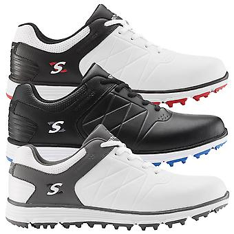 Stuburt Golf Mens 2020 Evolve II Spikeless Premium Leather Waterproof Golf Shoes