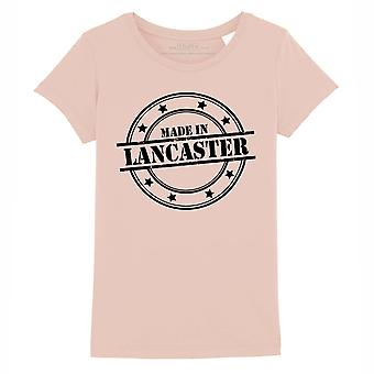 STUFF4 Girl's Round Neck T-Shirt/Made In Lancaster/Coral Pink