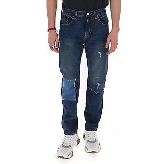 Junya Watanabe P2030511 Hommes-apos;s Jeans en coton bleu
