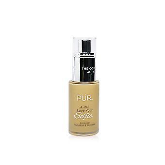 Pur (purminerals) 4 In 1 Love Your Selfie Longwear Foundation & Concealer - #mg4 Linen (golden Medium Skin With Golden Undertones) - 30ml/1oz