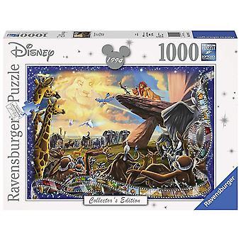 Ravensburger Disney Collector & apos; s Utgave Lion King 1000pc Jigsaw