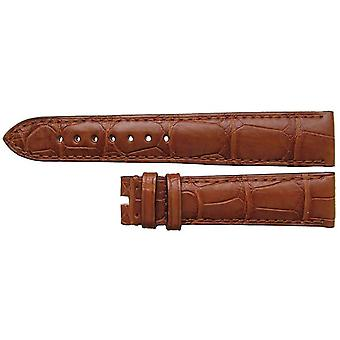Authentic omega watch strap 19mm omega brown alligator authentic omega