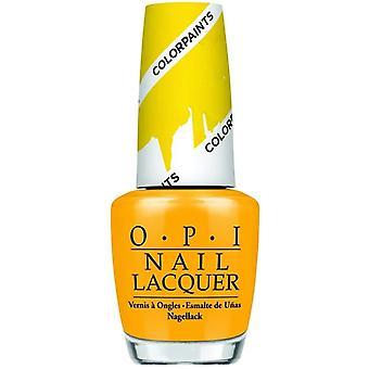 OPI Farbfarben - in erster Linie gelb