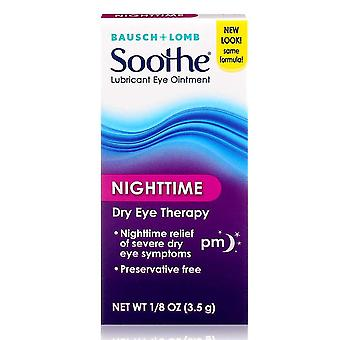 Bausch + lomb soothe lubrificante olho intment noturno, 0,13 oz