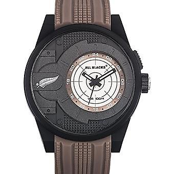 Reloj analógico de todos negros 680293 Unisex