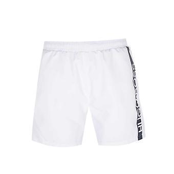 BOSS Bodywear Dolphin White Swim Shorts