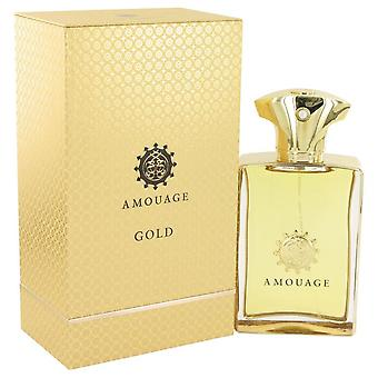 Amouage Gold Eau De Parfum Spray By Amouage 3.4 oz Eau De Parfum Spray
