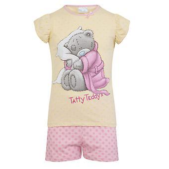 Tatty تيدي هدية رسمية طفل طفل صغير الفتيات بيجامة قصيرة