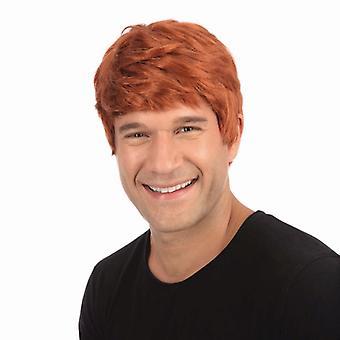 Male Wig. Short. Ginger