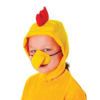 Chicken Disg Set Childs (Hood + Nose)