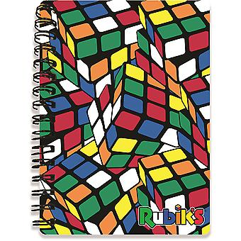 Rubik's Totally Cubed 3D A6 Notebook