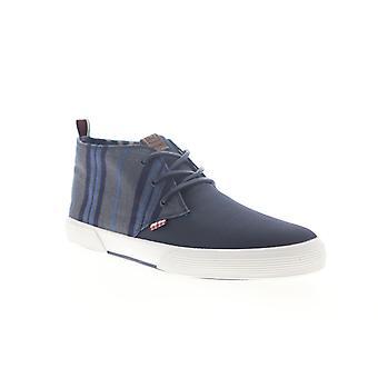 Ben Sherman Bristol Chukka  Mens Blue Mid Top Lifestyle Sneakers Shoes