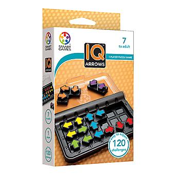 SmartGames IQ Arrows One Player Brain Teaser Puzzle Game 6 Puzzle Pieces Ages 7