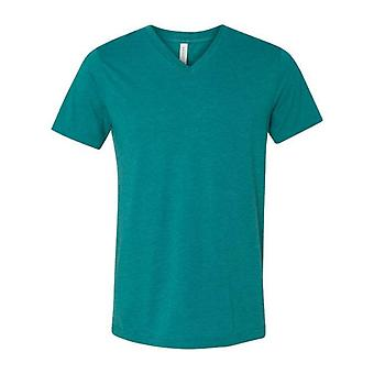 Bella + canvas - unisex triblend v-neck short sleeve tee - 3415