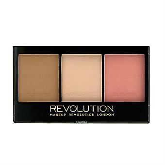 Makeup Revolution Ultra Sculpt et Contour Kit-Ultra Fair C01