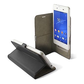 "Funda móvil universal - libro Smartphone 4,5"" KSIX Slide Negro"