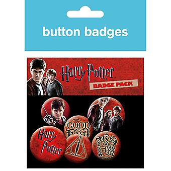 Harry Potter Icon Pack Pin Button Badges Set