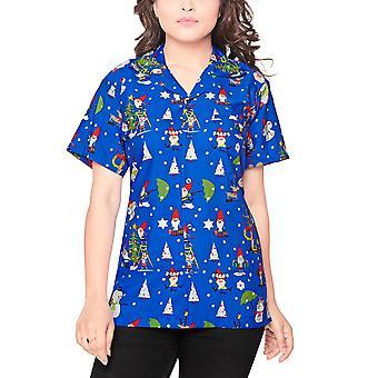 Club cubana women's regular fit classic short sleeve casual blouse shirt ccwx38