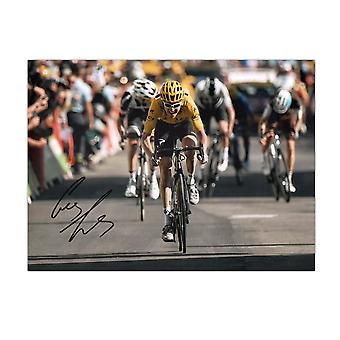 جيرينت توماس وقعت تور دو فرانس الصورة: Alpe D & apos;Huez سبرينت هدية مربع