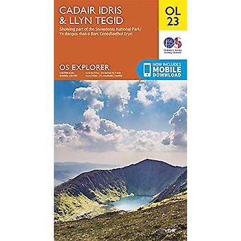Cadair Idris & Llyn Tegid - 9780319263594 Livro