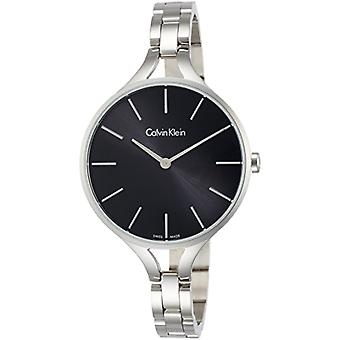 Calvin Klein ladies Quartz analogue watch with stainless steel band K7E23141