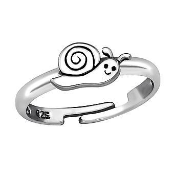 Улитка - 925 стерлингового серебра кольцо - W28106x