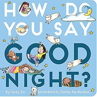 How Do You Say Good Night? by Cindy Jin - 9781534431591 Book