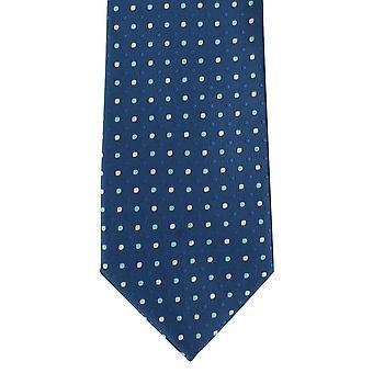 Michelsons London tonala färg plats Polyester Tie - Teal