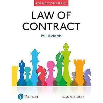 Law of Contract by Paul Richards - 9781292251486 Book