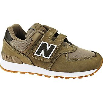 New Balance YV574PRB football all year kids shoes