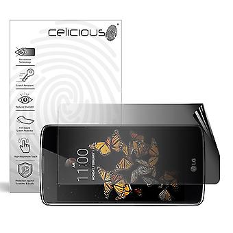 Celicious Privacy 2-Way Landscape Anti-Spy Filter Screen Protector Film Compatible with LG K8