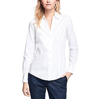 Brooks Brothers Women's Stretch Supima Cotton Fitted Dress Shirt