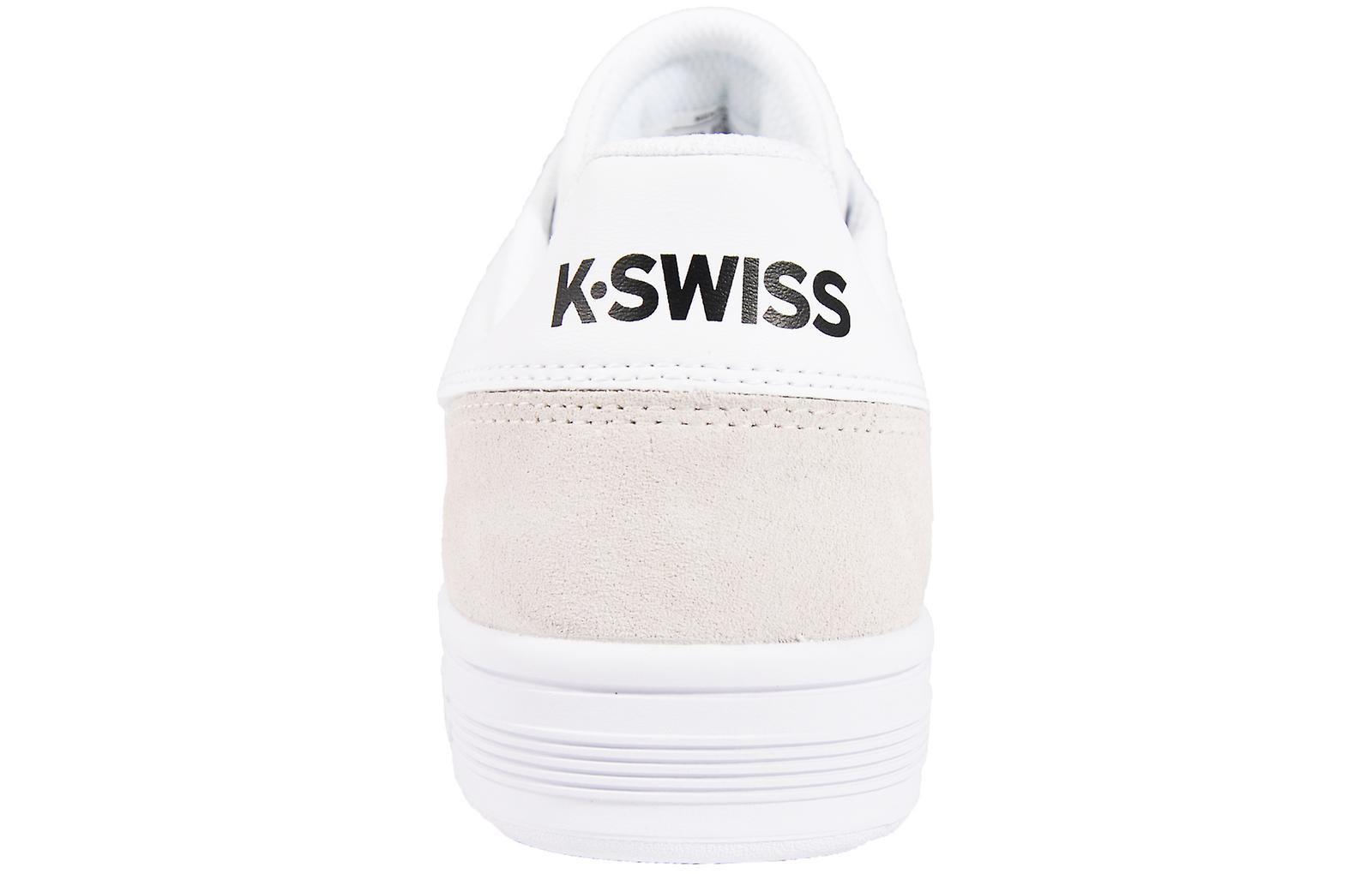 K Swiss Mens Chasseur Trainers Low Shoes Lace Up Leather Upper Stripe