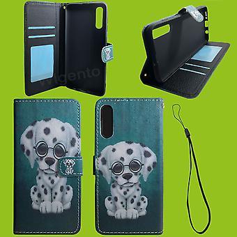 Für Xiaomi Redmi Note 9S Kunst-Leder Handy Tasche Book Motiv 60 Schutz Hülle Case Cover Etui Neu