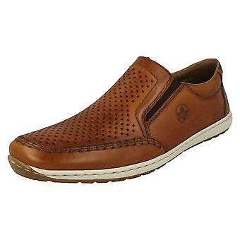 Męskie Rieker Loafer Style Buty 08868