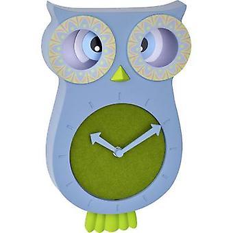 TFA Dostmann 60.3052.06 Quartz Wall clock 110 mm x 70 mm x 330 mm Blue-green