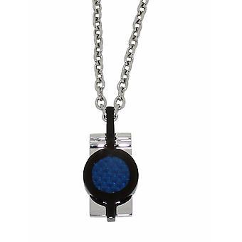 ZOPPINI Blue Carbon Necklace