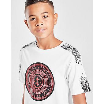 Nieuw aanbod & demand Kids' Venom Shield T-shirt Wit