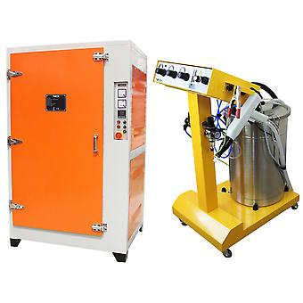 Electrostatic Powder Coating Machine Wet Paint Drying Curing Oven Industrial