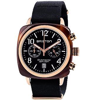 Briston Clubmaster Classic Quartz Chronograph Mens Watch 14140.PRA.T.1.NB
