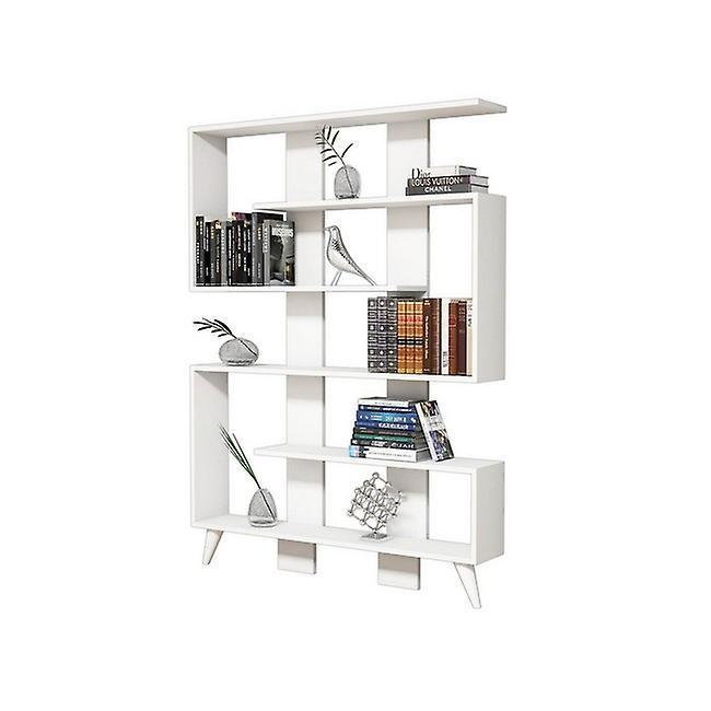 Jane Color White Library en puce melaminique, PVC 120x22x164 cm