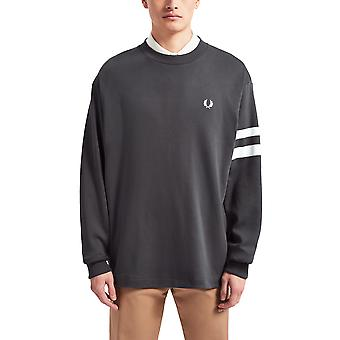 Fred Perry Men's Tipped Sweatshirt Dark