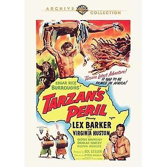 Tarzanin vaarassa [DVD] USA tuonti