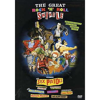 Sex Pistols - importar de USA gran Rock N Roll Swindle [DVD]